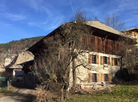 Central Morzine farmhouse