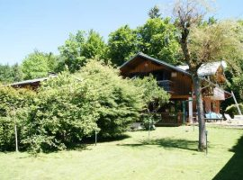Chalet with large garden