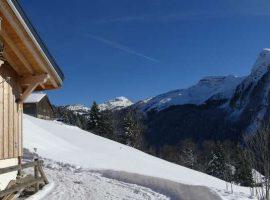 Sensational mountain chalet