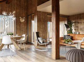 Luxury triplex apartment