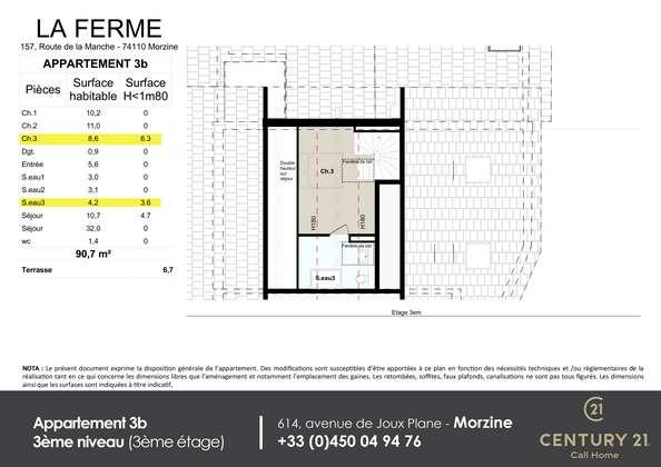 Apt 3bniv 3 Real Estate Agents Based In Morzine And Les Gets