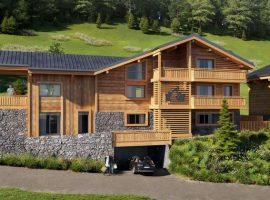 4 bedroom new build apt